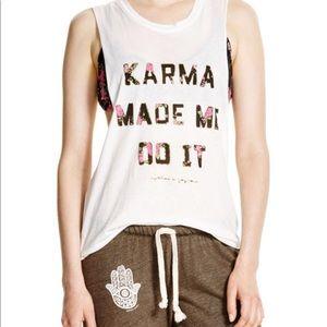 Spiritual Gangster Karma Made Me Do It Tank, M